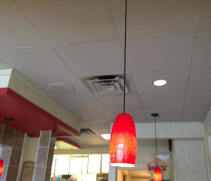 Water damage at Dairy Queen in Lapeer After