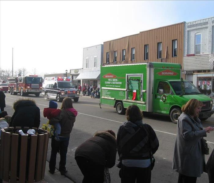 SERVPRO of Grand Blanc on Parade