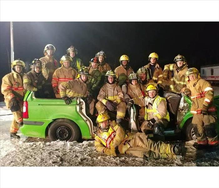 Why SERVPRO Donation to the Fire Association